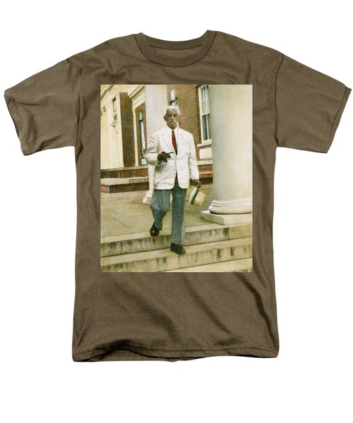 Men's T-Shirt  (Regular Fit) featuring the photograph William Faulkner (1897-1962) by Granger