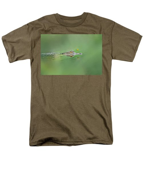 Alligator Men's T-Shirt  (Regular Fit) by Peter Lakomy