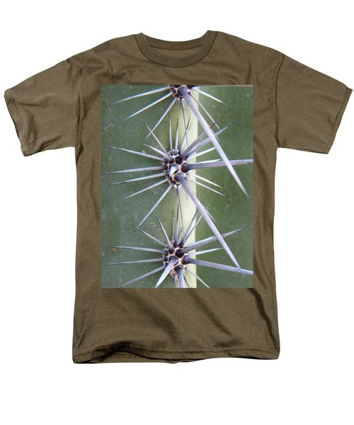 Men's T-Shirt  (Regular Fit) featuring the photograph Cactus Thorns by Deb Halloran