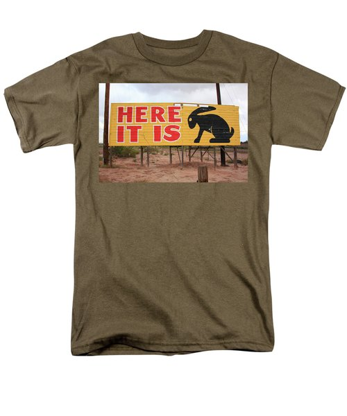 Route 66 - Jack Rabbit Trading Post Men's T-Shirt  (Regular Fit) by Frank Romeo
