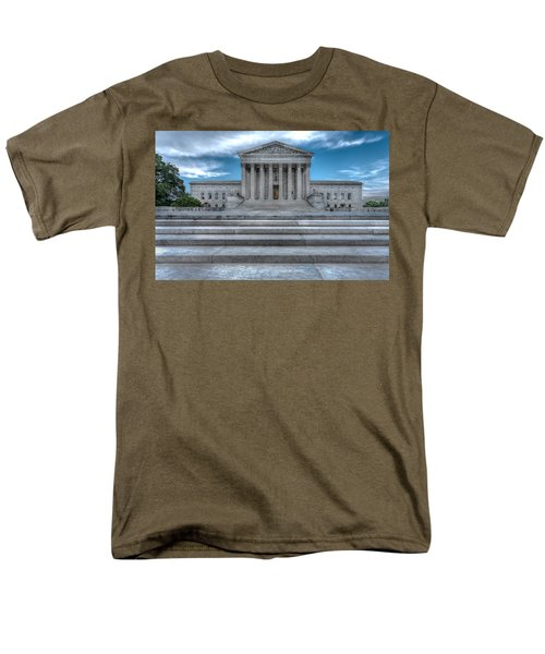 Men's T-Shirt  (Regular Fit) featuring the photograph Supreme Court by Peter Lakomy