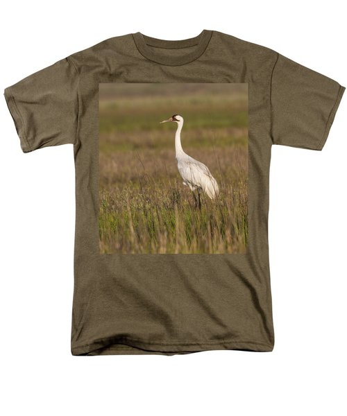 Whooping Crane Men's T-Shirt  (Regular Fit) by Doug Lloyd