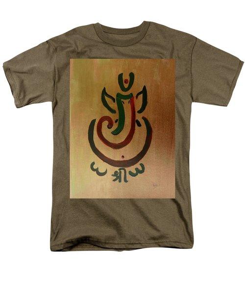 33 Rakta Ganesh Men's T-Shirt  (Regular Fit) by Kruti Shah