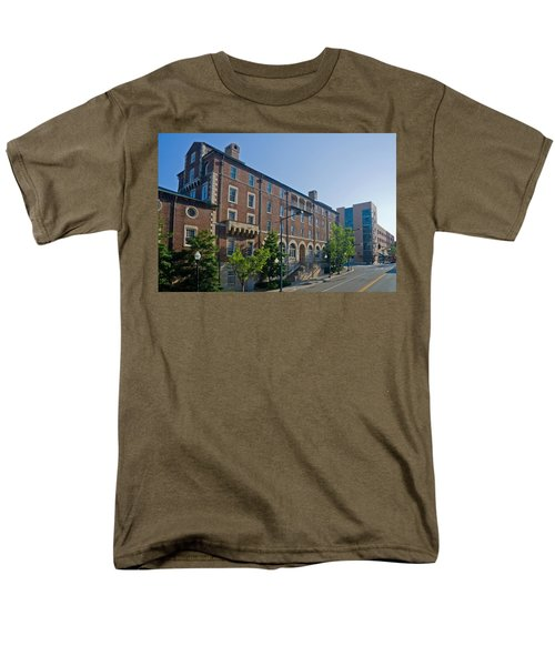 Downtown Knoxville Men's T-Shirt  (Regular Fit) by Melinda Fawver