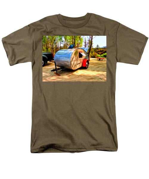 Men's T-Shirt  (Regular Fit) featuring the painting 47 Teardrop by Michael Pickett
