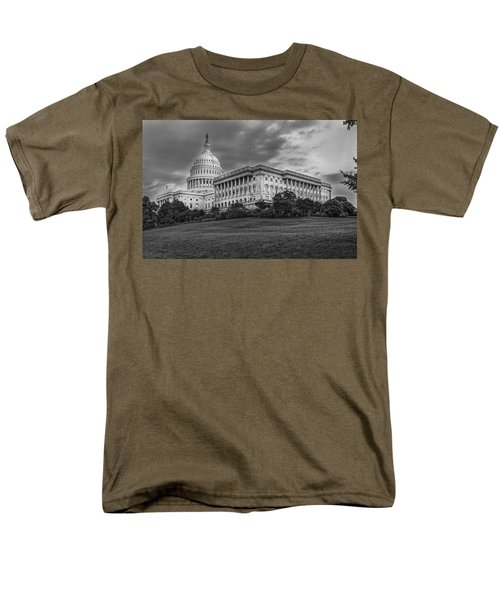 Men's T-Shirt  (Regular Fit) featuring the photograph Capitol Building by Peter Lakomy
