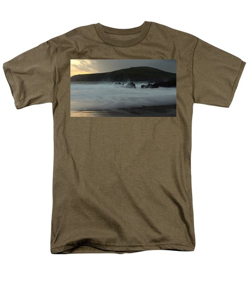 Beenbane Beach Men's T-Shirt  (Regular Fit) by Barbara Walsh