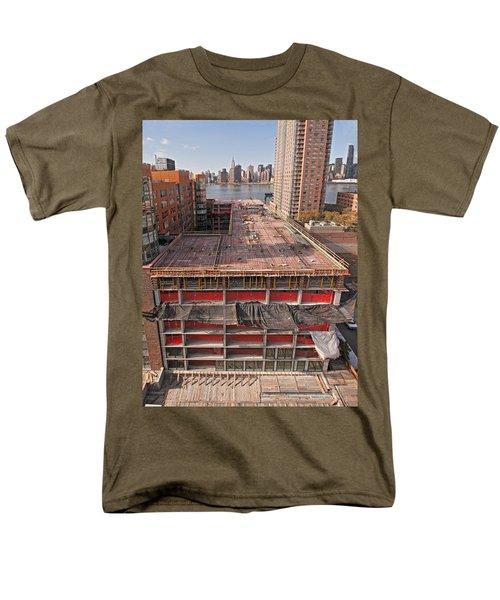 9th Floor Forms Men's T-Shirt  (Regular Fit) by Steve Sahm