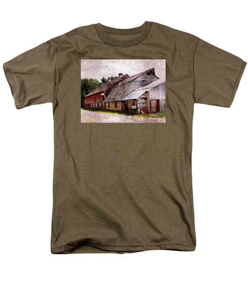 A Barn With Many Purposes Men's T-Shirt  (Regular Fit) by Marcia Lee Jones