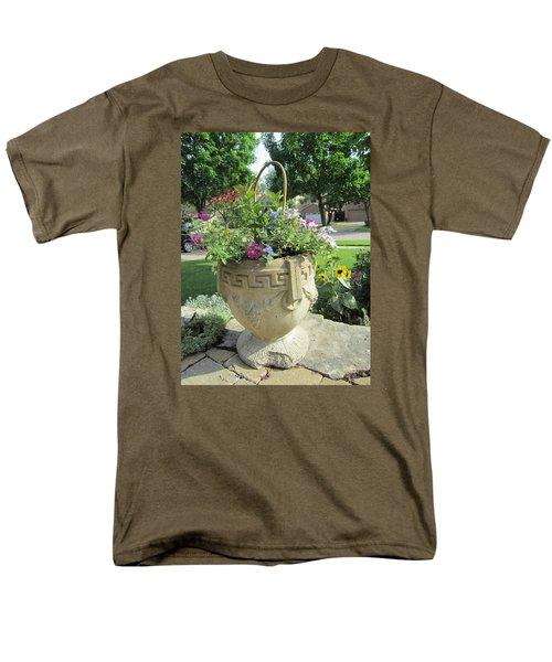 Men's T-Shirt  (Regular Fit) featuring the photograph A Basket Summer  by Jieming Wang