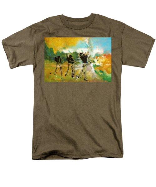 A Brilliant Shot Men's T-Shirt  (Regular Fit) by Catf