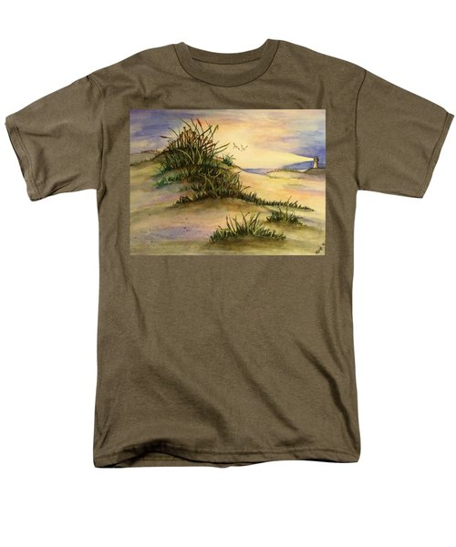 A Day At The Beach Men's T-Shirt  (Regular Fit) by Hae Kim