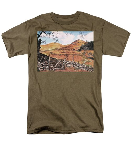 A Day In The Country Men's T-Shirt  (Regular Fit) by Sophia Schmierer