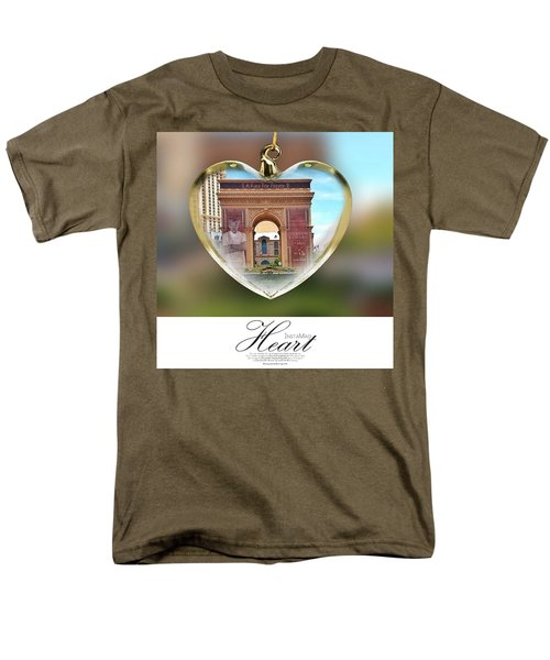 A Fury For Flavor, Arc De Triomphe, Las Men's T-Shirt  (Regular Fit) by Anna Porter