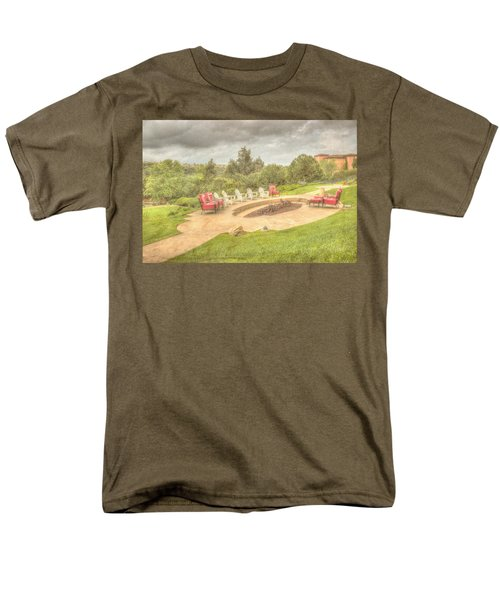 A Gathering Of Friends Men's T-Shirt  (Regular Fit) by Heidi Smith