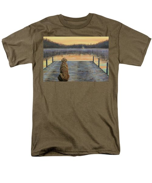 Men's T-Shirt  (Regular Fit) featuring the painting A Golden Moment by Susan DeLain