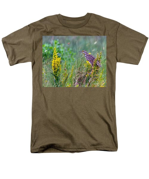 A Golden Opportunity Men's T-Shirt  (Regular Fit) by Gary Holmes