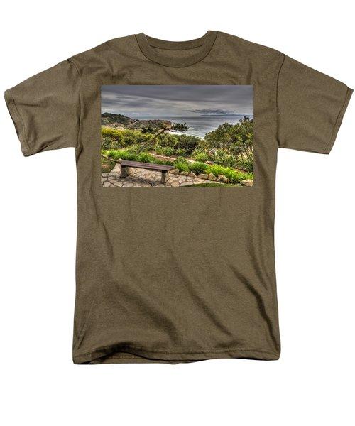 A Grand Vista Men's T-Shirt  (Regular Fit) by Heidi Smith