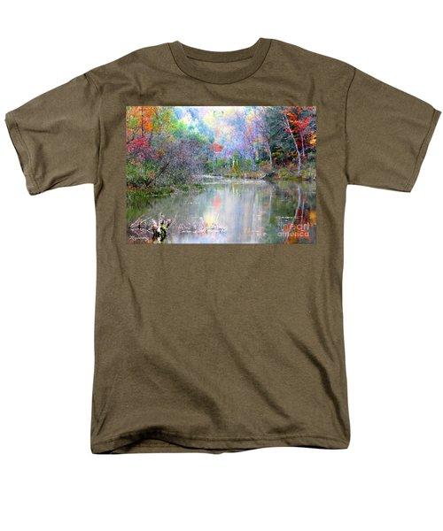 A Monet Autumn Men's T-Shirt  (Regular Fit) by Mariarosa Rockefeller