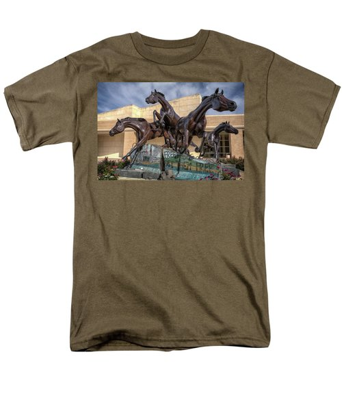 A Monument To Freedom Men's T-Shirt  (Regular Fit) by Joan Carroll