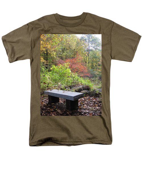 A Place To Think II Men's T-Shirt  (Regular Fit) by Barbara Bardzik