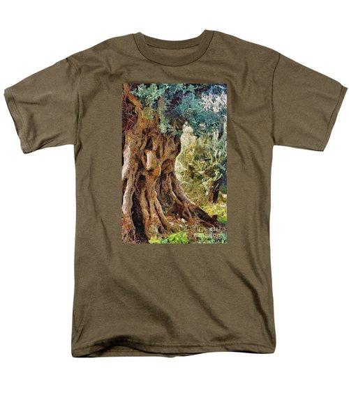 A Really Old Olive Tree Men's T-Shirt  (Regular Fit)