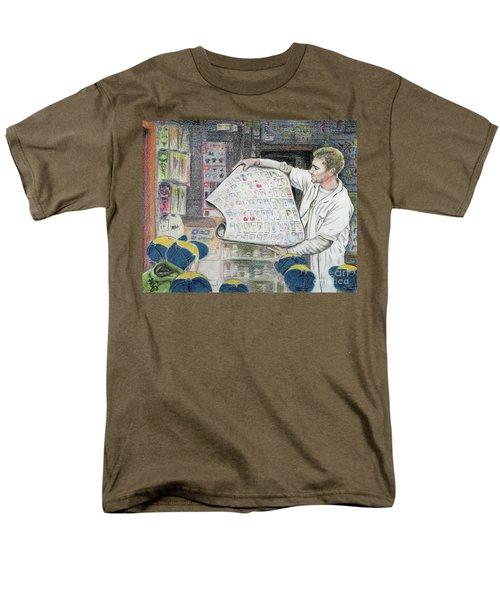 A Roll Of Baseball Cards Men's T-Shirt  (Regular Fit) by Yoshiko Mishina