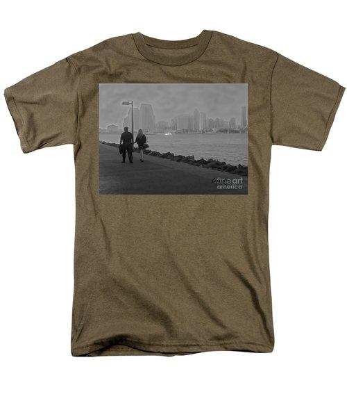 A Romantic Walk 2 Men's T-Shirt  (Regular Fit) by Claudia Ellis