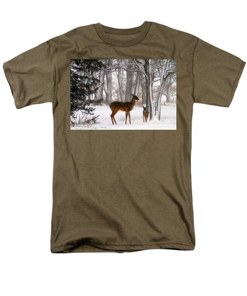 A Snowy Path Men's T-Shirt  (Regular Fit)