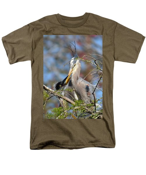 Men's T-Shirt  (Regular Fit) featuring the photograph A Special Moment by Kathy Baccari