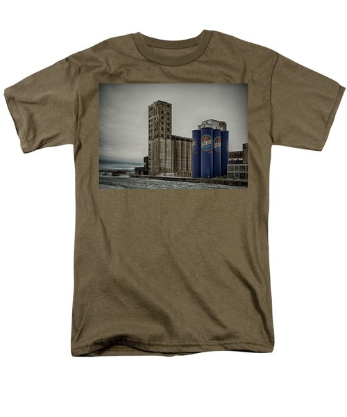A Tall Blue Six-pack Men's T-Shirt  (Regular Fit) by Guy Whiteley
