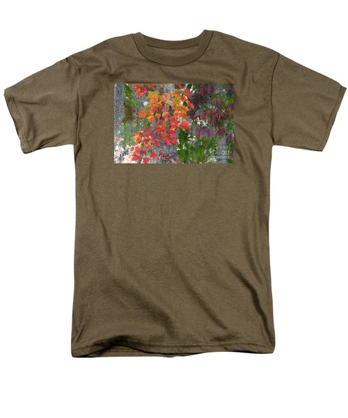 A Touch Of Autumn Men's T-Shirt  (Regular Fit) by Mariarosa Rockefeller
