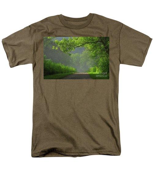A Touch Of Green II Men's T-Shirt  (Regular Fit)