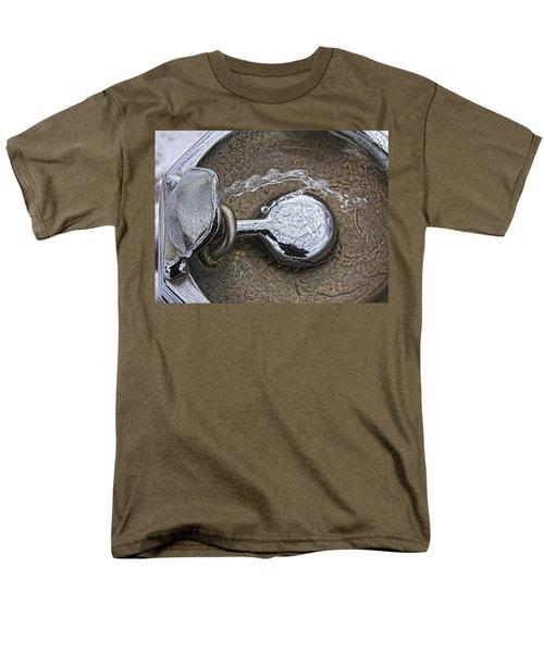A Winter Drink Of Water Men's T-Shirt  (Regular Fit) by Daniel Sheldon