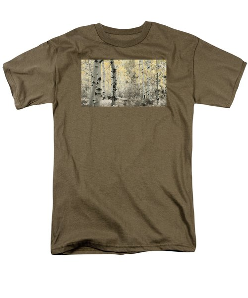 A Wisp Of Gold Men's T-Shirt  (Regular Fit) by Don Schwartz