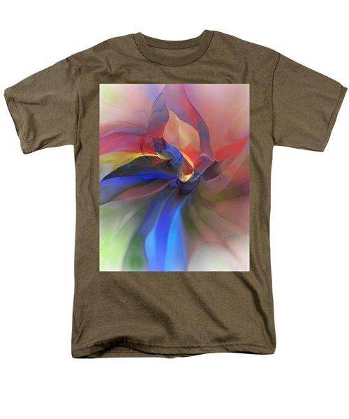 Abstract 121214 Men's T-Shirt  (Regular Fit) by David Lane