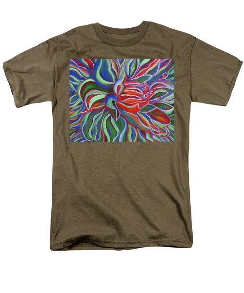 Abstract Flower Men's T-Shirt  (Regular Fit)