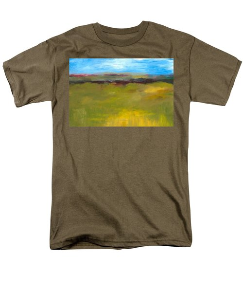 Abstract Landscape - The Highway Series Men's T-Shirt  (Regular Fit) by Michelle Calkins