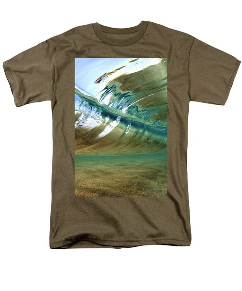 Abstract Underwater 2 Men's T-Shirt  (Regular Fit) by Vince Cavataio - Printscapes