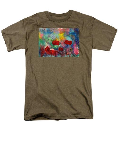 Acrylic Msc 078 Men's T-Shirt  (Regular Fit) by Mario Sergio Calzi