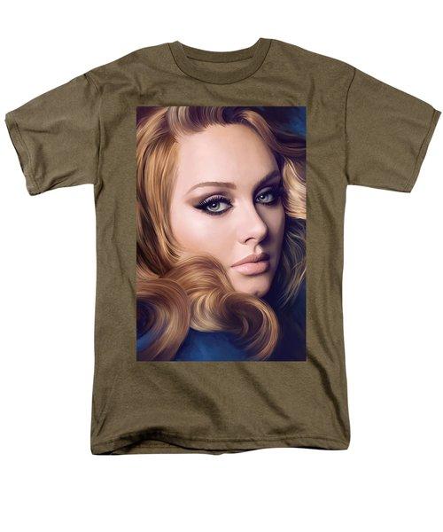 Adele Artwork  Men's T-Shirt  (Regular Fit) by Sheraz A