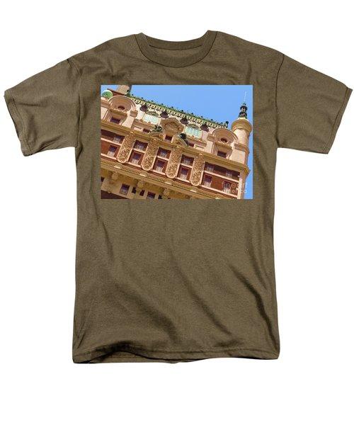 Men's T-Shirt  (Regular Fit) featuring the photograph Adolphus Hotel - Dallas #1 by Robert ONeil