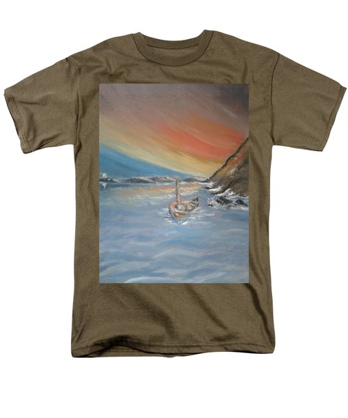 Men's T-Shirt  (Regular Fit) featuring the painting Adrift by Teresa White