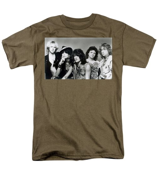 Aerosmith - What It Takes 1980s Men's T-Shirt  (Regular Fit) by Epic Rights