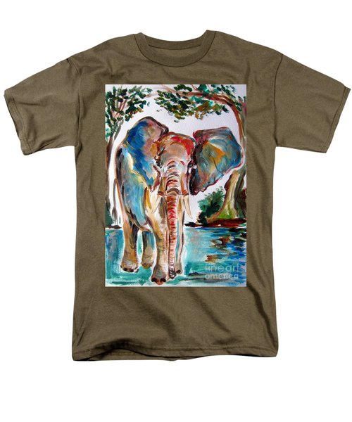 African Elephant Men's T-Shirt  (Regular Fit)