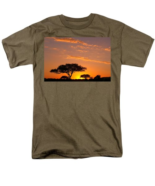 African Sunset Men's T-Shirt  (Regular Fit) by Sebastian Musial