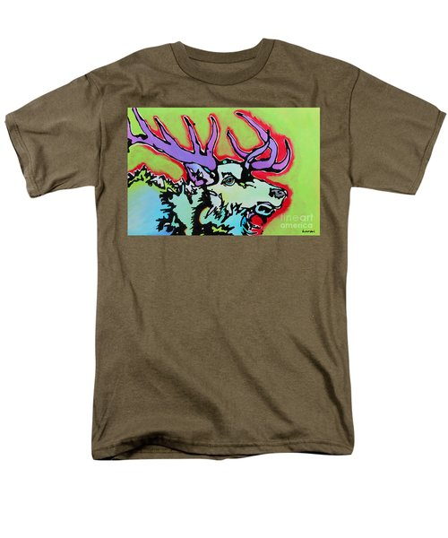 Men's T-Shirt  (Regular Fit) featuring the painting After Midnight by Nicole Gaitan