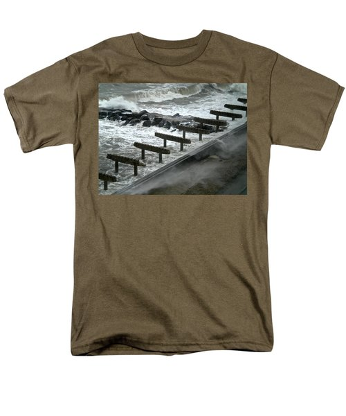 After Storm Sandy Men's T-Shirt  (Regular Fit) by Joan Reese