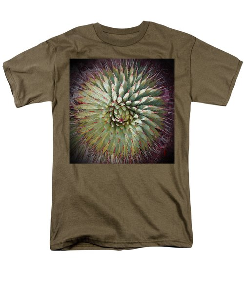 Agave Spikes Men's T-Shirt  (Regular Fit) by Alan Socolik