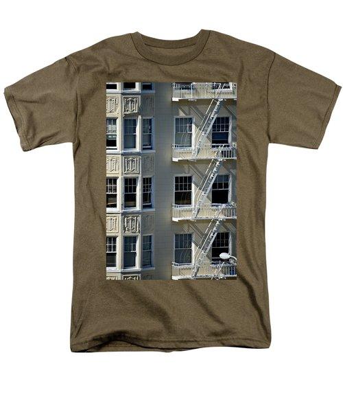 Men's T-Shirt  (Regular Fit) featuring the photograph Alamo Square San Francisco by Steven Richman